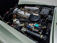 Mercedes Benz 190 SL motorraum 2