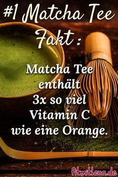 Der erste Fakt über den beliebten Matcha-Tee.-  Weitere Infos unter http://www.fitmitlena.de/matcha-tee-das-gruene-wunder-fuer-ewige-gesundheit/