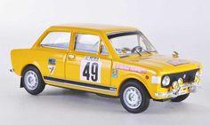 Fiat 128 Rally Gr1 Montecarlo No.49 1972 Lier/Frattini Rio. Fiat 128 Rally Gr1 Montecarlo No.49 1972 Lier/Frattini Rallye miniature 1/43