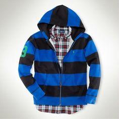 ralph lauren striped hooded rugby - Поиск в Google