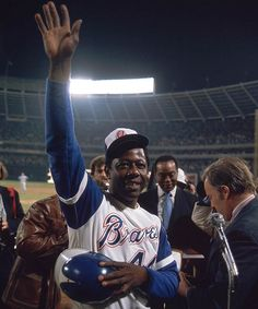 Hank Aaron, Milwaukee/Atlanta Braves