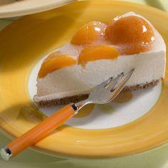 Cheesecake mit Aprikosen