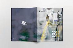 Proposition pour couverture d'un rapport annuel pour la fédération des producteurs acéricoles du Québec. Publication cover, business report.