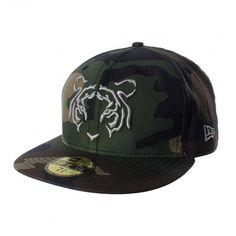 Apoya a tus Tigres de corazón al estilo militar con la gorra New Era 5950 Tigres Camo. Fitted Baseball Caps, Fitted Caps, Baseball Hats, New Era Fitted, Snapback, New Era Cap, Camo, Fitness, Japanese