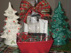 Satin hands Gift Basket