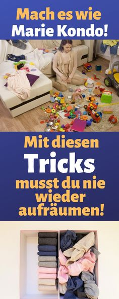 Mit diesen Tricks musst du nie wieder aufräumen Best Picture For tidy up konmari For Your Taste You are looking for something, and it is going to tell you exactly … Tidying Up Book, Marie Kondo Methode, Konmari Methode, Money Plan, Savings Planner, Budget Planer, Tidy Up, Finance Tips, Clean Up