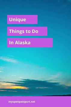 There are some great things to do in Alaska. Check out this article for some lesser known options that will make you blow your mind when you visit this most northern state in the USA. #alaska #usa #uniquethingstodo #traveltoalaska #visitalaska