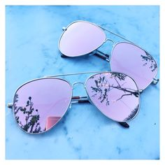 Stylish pair of rose gold Aviator sunglasses Rose Gold mirrored sunglasses Pink mirrored sunglasses Trending sunglasses UV protection Cat Eye Sunglasses, Sunglasses Women, Sunglasses Sale, Pink Sunglasses, Vintage Sunglasses, Rose Gold Mirrored Sunglasses, Rose Gold Aviators, Cute Glasses, Glasses Frames