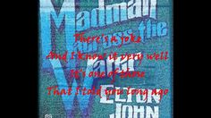 """Elton John - Madman Across the Water. 11/30/14. I was once again listening to another playlist I made quite a while ago. This is one of my favorite Elton John songs! """"Is the nightmare black or are the windows painted?"""" always thought that was a really cool lyric :)"""