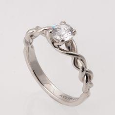 three strand braided wedding ring - Google Search
