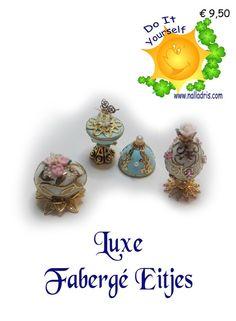 Luxury workshop Faberge eggs
