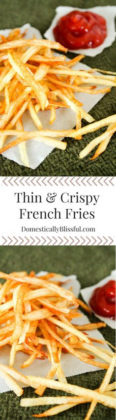 Crispy french fries, French fries and Homemade french fries on ...