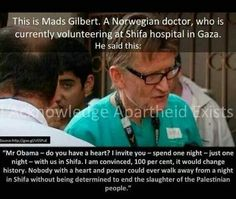 Dr. Mads Gilbert... Just a human being!