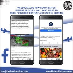 Finally, Facebook has now launched support for Instant Article links in Facebook Stories.  #facebookads #updates #article #links #StorySocial #facebookmarketing #socialmediatips #socialmediamarketing #digitalmarketingagency Facebook Marketing, Social Media Marketing, Social Media Tips, Facebook Sign Up, Ads