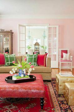 ▷ 1001 + Wohnzimmer Ideen Für Kleine Räume Zum Entlehnen | Wohnzimmer  Design | Pinterest | Wohnzimmer Ideen, Rosa Sofa Und Einfache Regale