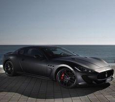 Maserati - murdered out #black