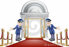 Red carpet entrance by Christos Georghiou, via Dreamstime