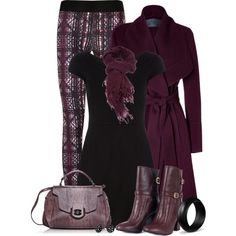 Leggings and a dress, created by mommygerloff on Polyvore