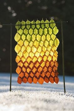 Dishfunctional Designs: Crafts To Make With Autumn Leaves