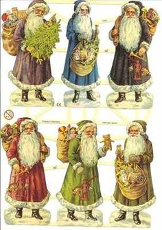 victorian father christmas - Google Search