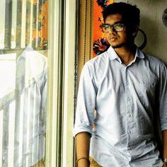 #akilvarman #bicsglobal #annanagar #officepost #chennai #mirror #pose #photo #blue #solo #akilvarman