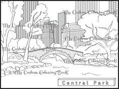 27 Best Winter Pbis Images Coloring Book Coloring Pages Central Park