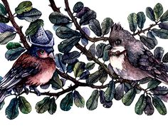 """Check out new work on my @Behance portfolio: """"Birds."""" http://be.net/gallery/53461651/Birds"""