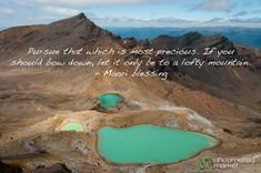"""Pursue the Precious."" A beautiful Maori Blessing and Emerald Lakes - Tongariro Crossing, New Zealand Places Around The World, Around The Worlds, Tourism Development, Emerald Lake, Polynesian Culture, Sustainable Tourism, New Zealand Travel, Travel Images, Australia Travel"