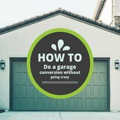 How to do a garage conversion yourself the home builders garage c converting a garage can give you the perfect space to pursue a hobby have your own home office or create a small rental unit for added income solutioingenieria Gallery