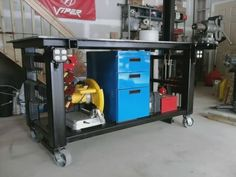 One of the cleanest Welding Tables