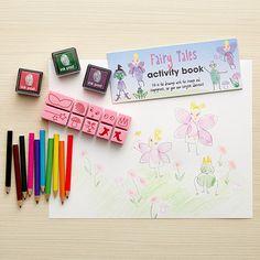 Fairy Tale Finger Printing Art Set