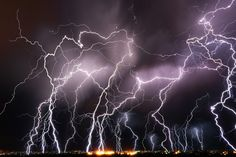 "500px / Nature's Dance by Lisa Kidd. ""Lightning storm over Twin Falls, Idaho. This was an amazing show of nature! This was one of the best lighting shows I have seen in Idaho."""