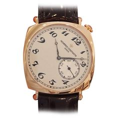 Vacheron Constantin Rose Gold Historiques American 1921 Wristwatch | From a unique collection of vintage wrist watches at https://www.1stdibs.com/jewelry/watches/wrist-watches/