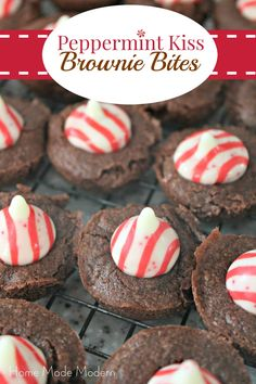 Peppermint Kiss Cookies Recipe | Kiss Cookies, Peppermint and Kiss