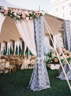 patterned tented wedding decoration ideas wedding decorations 16 Gorgeous Wedding Entrance Decoration Ideas for Outdoor Tent Weddings - EmmaLovesWeddings Summer Wedding Guests, Space Wedding, Dream Wedding, Summer Weddings, Wedding Night, Boho Wedding, Summer Wedding Makeup, Wedding Reception, Wedding Rings