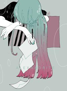 มติ KNOCK OUT в Твиттере: «Inktober 6 : Antarcticite & Phosphophyllite (drooling)… Fanarts Anime, Manga Anime, Anime Art, Art Et Illustration, Character Illustration, Dibujos Tumblr A Color, Pixiv Fantasia, Anime Pictures, Aesthetic Art