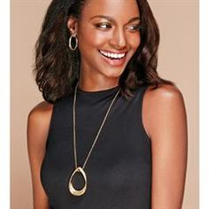 Avon Rising Stars Long Pendant Necklace