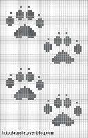 Patrones de punto de cruz de S