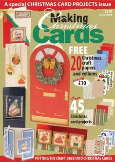 Buy subscriptions and issues of Making Cards  - Christmas Special 2007. Available on Desktop PC or Mac and iOS or Android mobile devices.