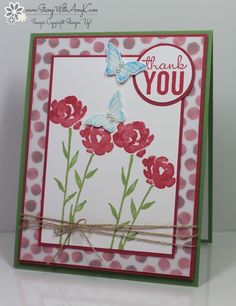 Painted Petals - Stampin' Up! - Stamp With Amy K