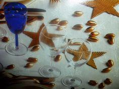 un mondo di ricette: decorazioni tavola natalizia : stelle di carta