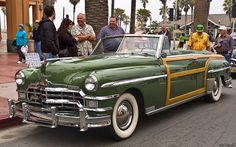 1949 Chrysler Town & Country convertible - fvl