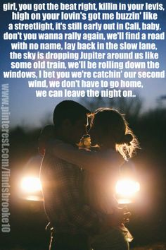 Leave the Night On - Sam Hunt