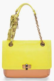 LANVIN Medium Happy Shoulder Bag