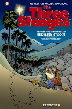 The Three Stooges Graphic Novels #2: Ebenezer Stooge by George Gladir. $10.99. Series - Three Stooges (Book 2). 64 pages. Reading level: Ages 8 and up. Publisher: Papercutz; Unabridged edition (October 30, 2012)