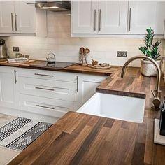 51 Changing Your Kitchen Interior Design Ideas changing decorationappart Kitchen Room Design, Home Decor Kitchen, Interior Design Kitchen, New Kitchen, Home Kitchens, Kitchen Small, Kitchen Ideas, Small Kitchens, Rustic Kitchen
