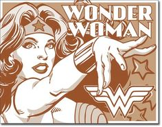 All signs are professionally painted using vibrant, quality paints. We have a wide variety of nostalgic, vintage, retro and sports signs. Our signs are perfect Comic Poster, Comic Art, Comic Books, Batman Poster, Wonder Woman Comic, Wonder Women, Justice League, Concert Signs, Vintage Tin Signs