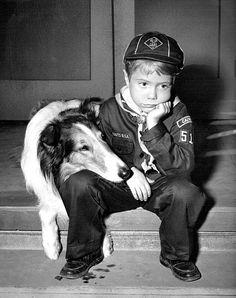Jon Provost in Lassie1958.