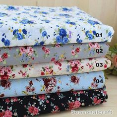 Rose Fabric Flower Fabric,Shabby Chic Style Cotton, Black White Grey Blue Floral Cotton Fabric 1/2 Yard(QT522) by seasonalsupplies on Etsy https://www.etsy.com/listing/238619503/rose-fabric-flower-fabricshabby-chic