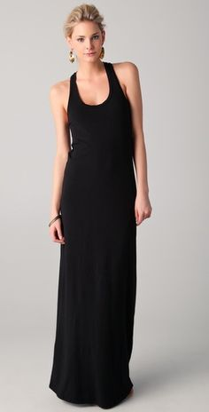 If you see me on the weekends... i'm probably wearing this uniform - black maxi!